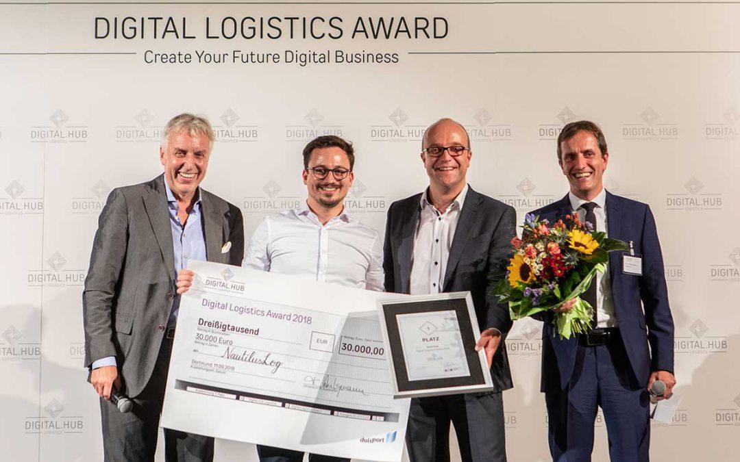 NautilusLog GmbH wins the Digital Logistics Award 2018