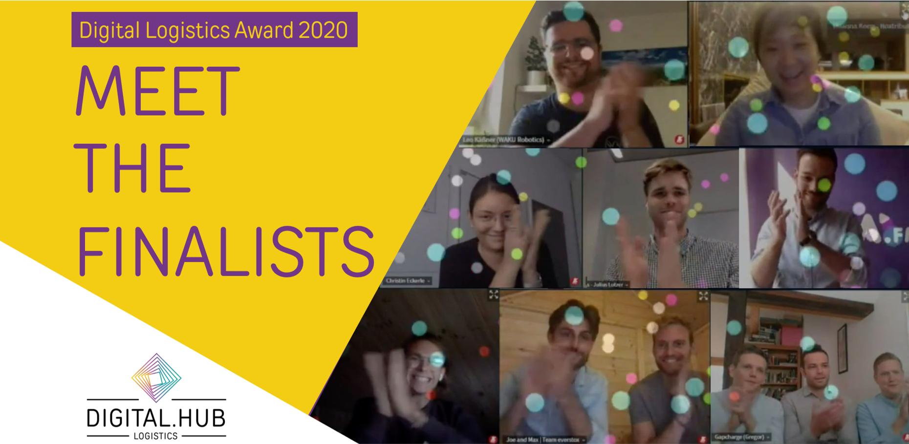 Meet the Finalists of the Digital Logistics Award 2020 #2